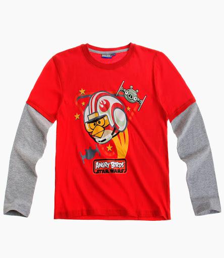 Koszulka ANGRY BIRDS STAR WARS Bluzka roz 116 6860937121 Dziecięce Odzież SG UJADSG-8