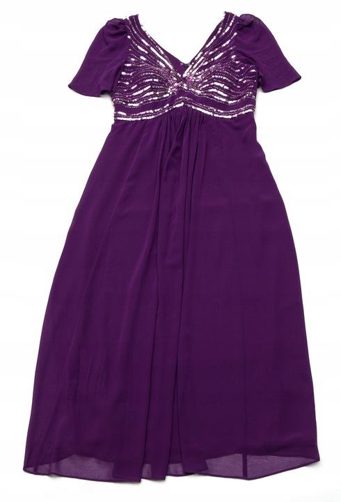 BD310 Wieczorowa suknia SIXTH SENSE 40/42 9518815352 Odzież Damska Sukienki wieczorowe TP UAYYTP-6