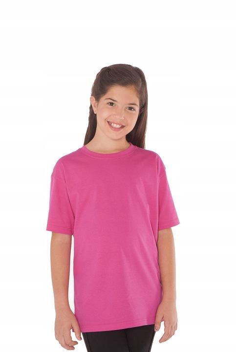 Koszulka DZIECIĘCA T-shirty JHK 13lat 152cm kolory 7605068675 Dziecięce Odzież WN QCBTWN-7