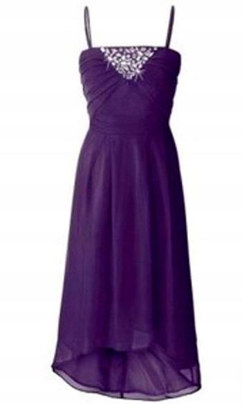 BB169 Zwiewna asymetryczna sukienka 42/44 NOWA! 9698539997 Odzież Damska Sukienki wieczorowe MN RNOXMN-7