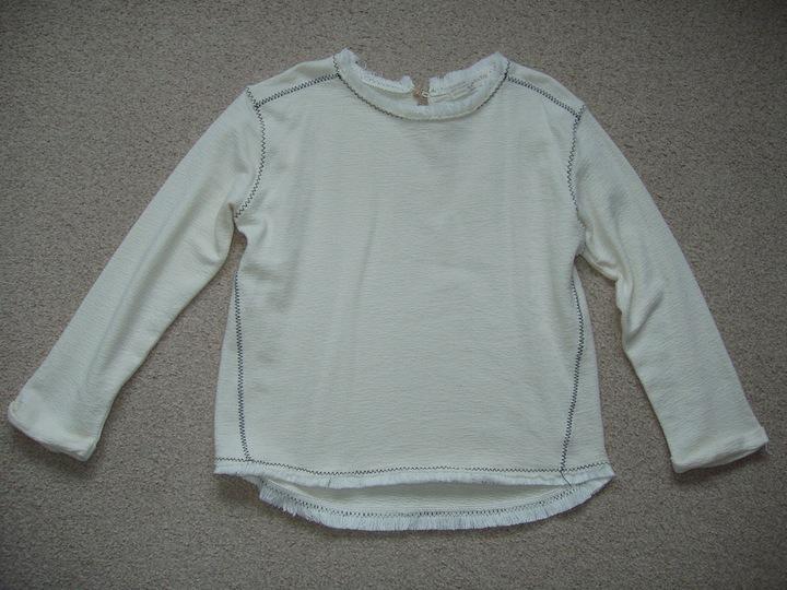 bluzka ZARA r 128 9495511786 Dziecięce Odzież PE YMTTPE-3