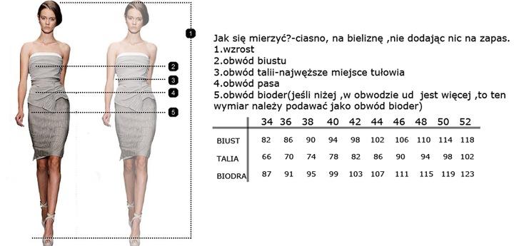CAMILL 322 bordowa wieczorowa suknia rybka 52 8650858957 Odzież Damska Sukienki wieczorowe UW CWBRUW-6