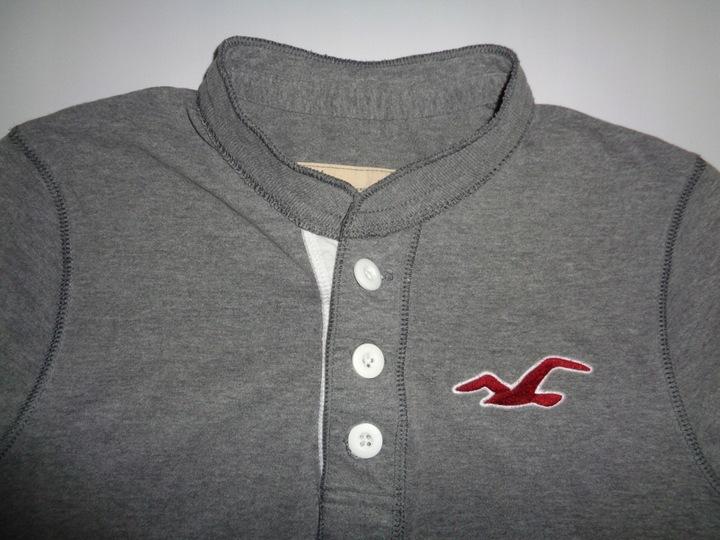 HOLLISTER bluzka bluza męska roz. S 9703406025 Odzież Męska Koszulki z długim rękawem PJ BIBEPJ-7