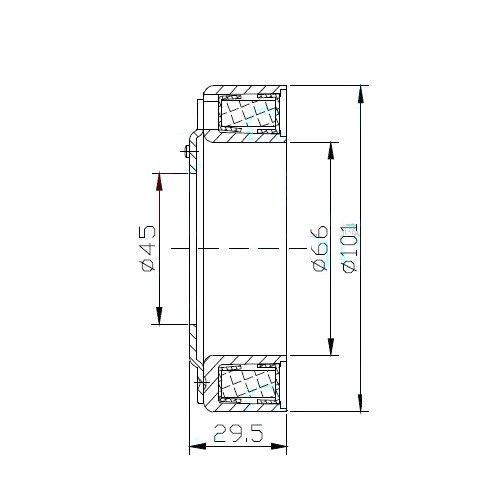 2207003 CEWKA KLIMATYZACJI FORD MONDEO IV C-MAX