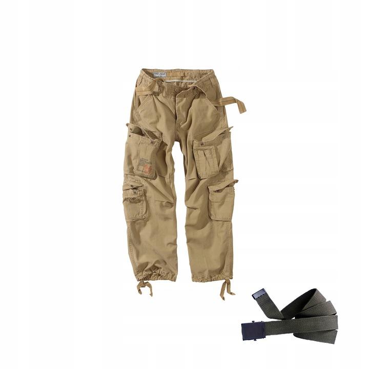 Spodnie Bojówki M65 AIRBORNE SURPLUS XL + Pasek www